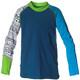 Isbjörn Sun Longsleeve Shirt Children green/blue